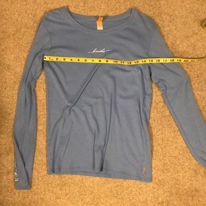Blue Breathe Longsleeve